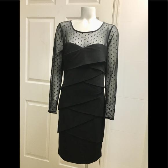 White House Black Market Dresses & Skirts - White House Black market White black dress size 12